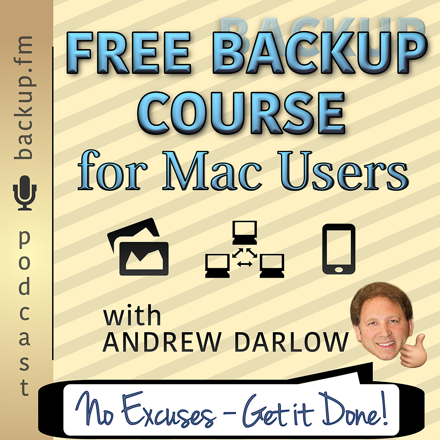 Free Backup Course Podcast Art