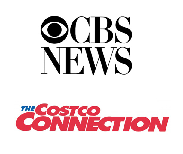 CBS News and Costco Connection Logos