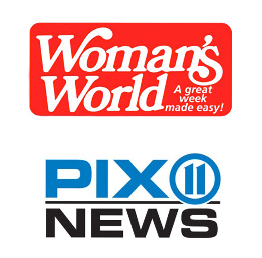 Woman's World and PIX 11 logo
